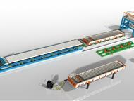Линия по производству пустотных плит ПК Компания «Интэк» занимается производством технологических линий, бетонных заводов, бетоносмесителей, металлофо, Дзержинск - Строительные материалы