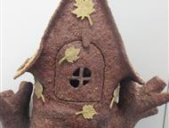 Красноярск: Кукольный домик Сделан из коры сосны. Возможно приделать подсветку. На заказ могу изготовить по Вашим шаблонам, конфигурациям и размерам.