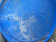 Пермь: Крышки для труб(синие газпром) Покупаю крышки синие Газпром, для труб в любом состоянии: Отходы, куски, брак, битые и целые. Синего, желтого, белого,