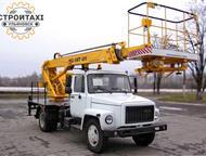Аренда автовышки в Ульяновске от 12 до 30 метров Предоставляем услуги автовышки с вылетом стрелы от 12 метров до 30 метров. Грузоподъемность 250 кг, л, Ульяновск - Автогидроподъемник (вышка)